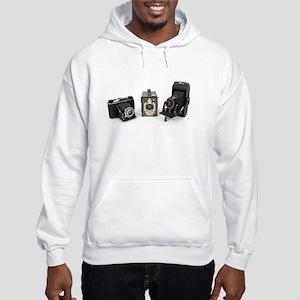 Retro Cameras Hooded Sweatshirt