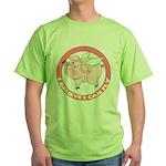 Inspirational Flying Pig Green T-Shirt