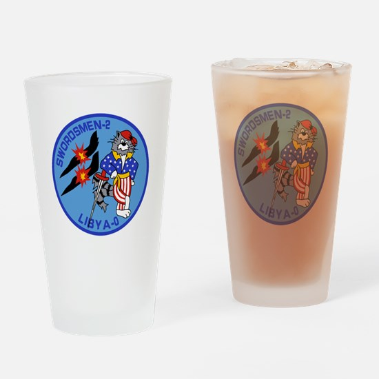 VF-32 Swordsmen Drinking Glass