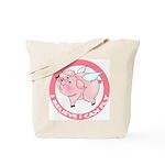 Inspirational Flying Pig Tote Bag
