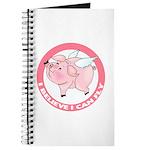 Inspirational Flying Pig Journal