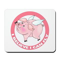 Inspirational Flying Pig Mousepad