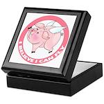 Inspirational Flying Pig Keepsake Box