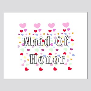 Maid Of Honor Hearts Small Poster