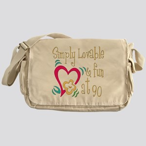Lovable 90th Messenger Bag