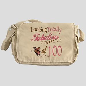 Fabulous 100th Messenger Bag