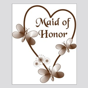 Maid Of Honor Heart And Butte Small Poster