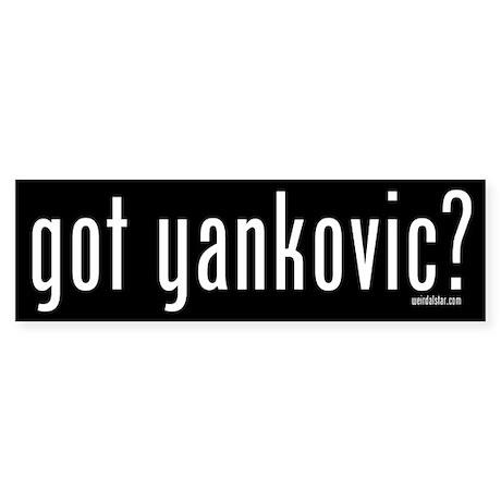 Got Yankovic? Bumper Sticker