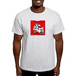 Christian cartoon Ash Grey T-Shirt