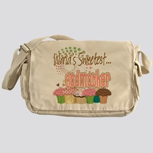 World's Sweetest Godmother Messenger Bag