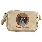 Pappy Holidays (sable santa h Messenger Bag