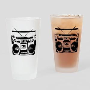 boombox Drinking Glass
