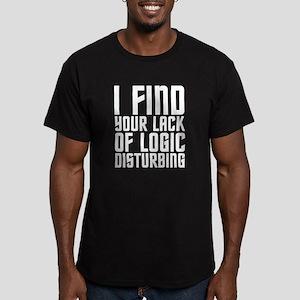 Logic Men's Fitted T-Shirt (dark)