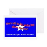 No Surrender Greeting Cards (Pk of 10)