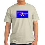 No Surrender Ash Grey T-Shirt