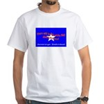 No Surrender White T-Shirt