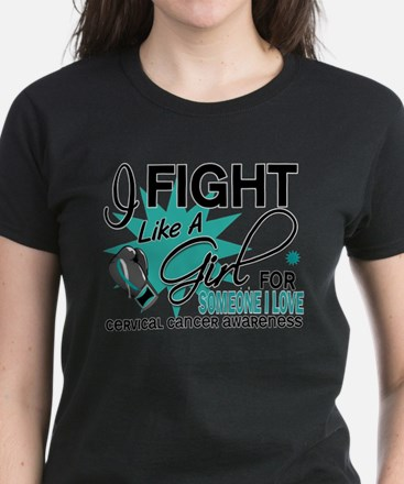 Fight Like A Girl For My Cervical Cancer Women's D