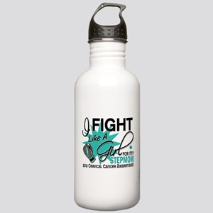 Fight Like A Girl For My Cervical Cancer Stainless