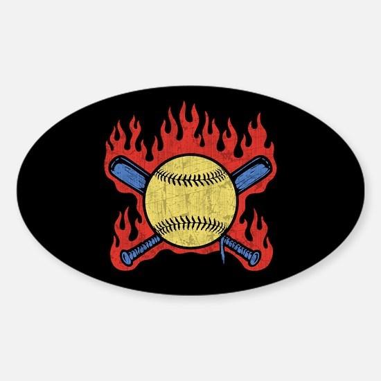 Flambeau Field Sticker (Oval)