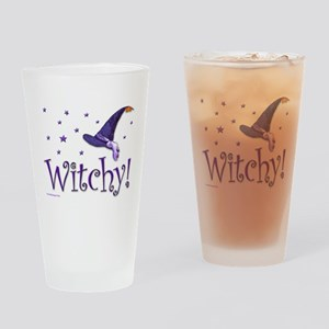 Witchy Drinking Glass