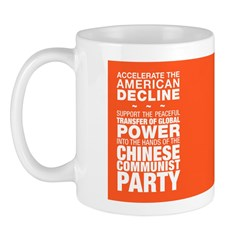 Accelerate The American Decline Mugs