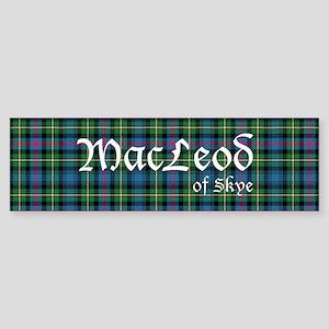 Tartan-MacLeodSkye Sticker (Bumper)