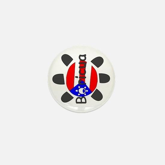 Puerto Rico Taino Symbol Mini Button