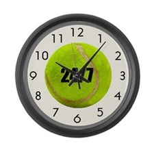 24/7 Tennis Large Wall Clock