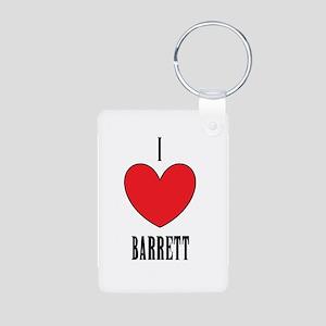 Barrett Aluminum Photo Keychain