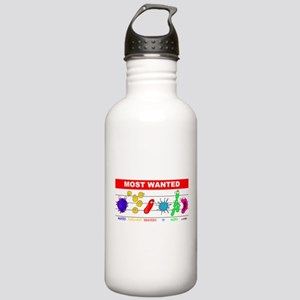 Most Wanted Poster Stainless Water Bottle 1.0L