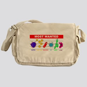 Most Wanted Poster Messenger Bag