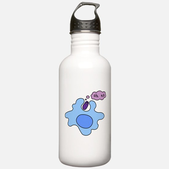 Bacteria Phagocytosis Water Bottle