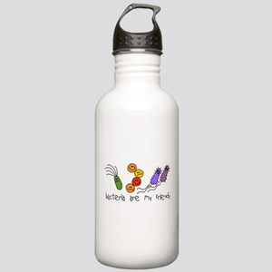 Bacteria are My Friends Stainless Water Bottle 1.0