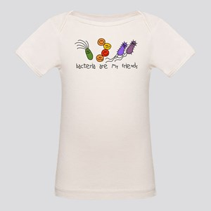 Bacteria are My Friends Organic Baby T-Shirt