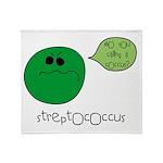 Streptococcus Throw Blanket