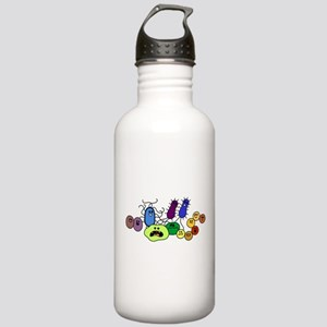 I Love Bacteria Too! Stainless Water Bottle 1.0L