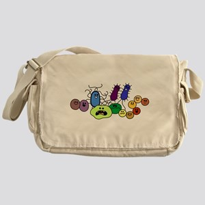I Love Bacteria Too! Messenger Bag