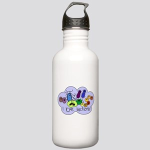 I Love Bacteria Stainless Water Bottle 1.0L