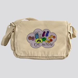 I Love Bacteria Messenger Bag