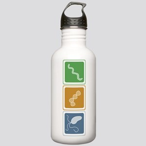 Beautiful Bacteria Stainless Water Bottle 1.0L
