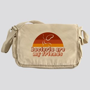 Bacteria are My Friends - New Messenger Bag