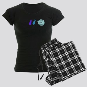 Poo Bacteria Women's Dark Pajamas