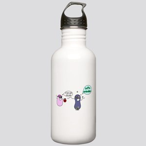 Let's Streak! Stainless Water Bottle 1.0L