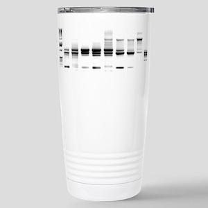 DNA Gel B/W Stainless Steel Travel Mug