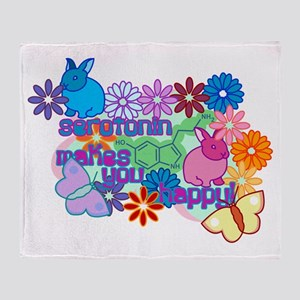 Serotonin Throw Blanket