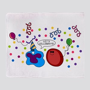 Let's Cellebrate Throw Blanket