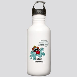 Adios Amoebas Stainless Water Bottle 1.0L