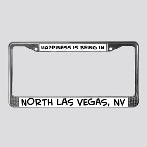 Happiness is North Las Vegas License Plate Frame