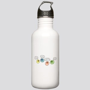 T Cell Wars Stainless Water Bottle 1.0L