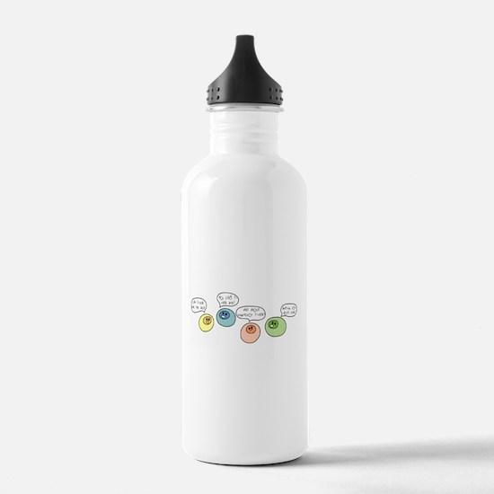 T Cell Wars Water Bottle